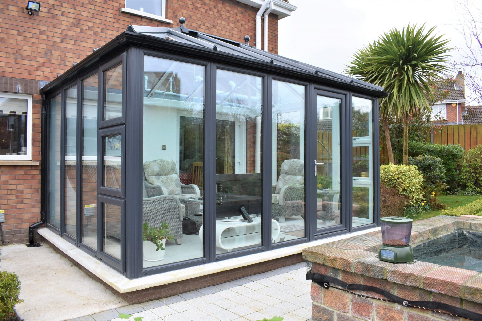 Contemporary conservatory
