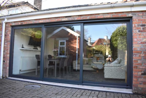 Triple Track Sliding Doors