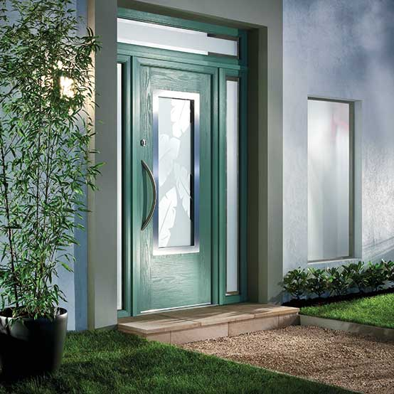 Contemporary Composite Doors